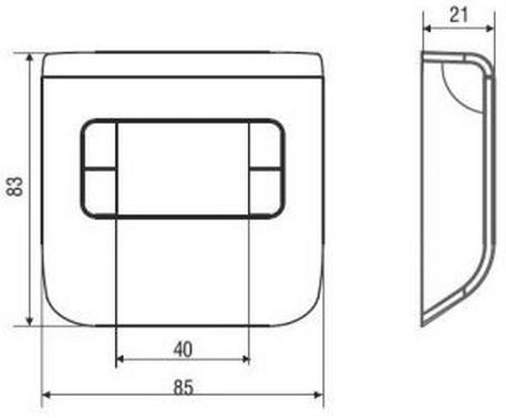 Termostato ambiente elettronico fantini cosmi ch110 con for Termostato fantini cosmi ch110