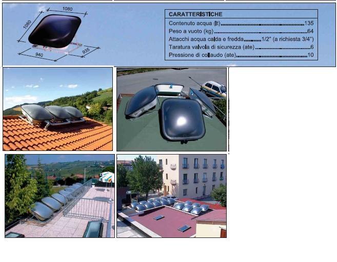 Pannello Solare Gratis : Boiler pannello solare termico lt acqua calda gratis